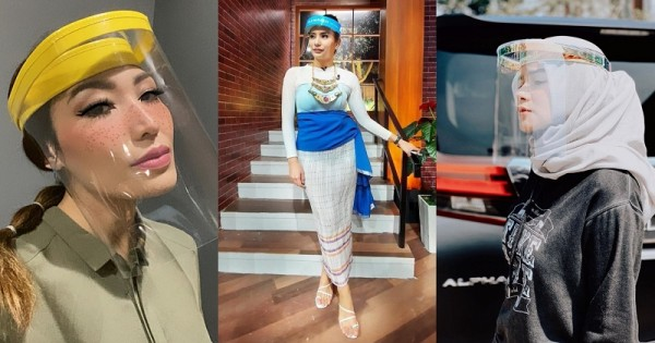 kpi undang lembaga penyiar tv terkait dengan artis pakai face shield tanpa masker