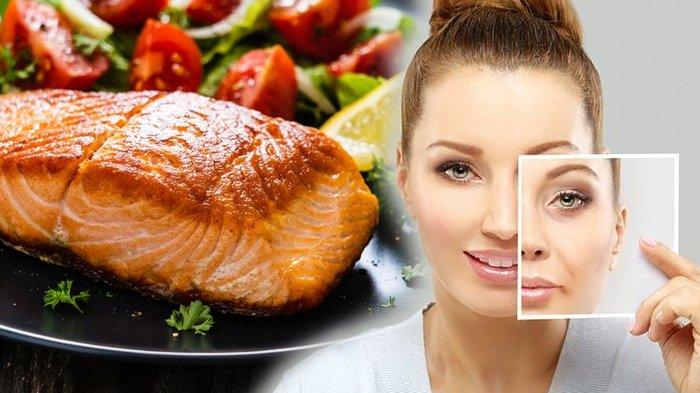 konsumsi 5 makanan ini untuk menunda penuaan dini