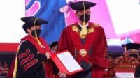 megawati soekarnoputri dikukuhkan sebagai profesor
