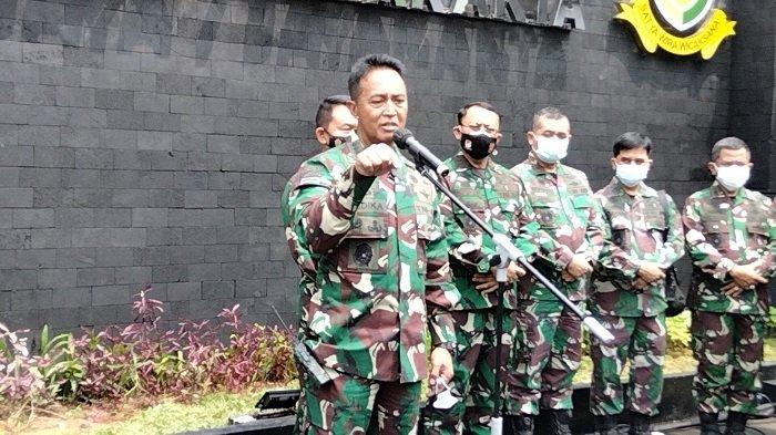 kepala staf angkatan darat ksad jenderal tni andika perkasa 1123