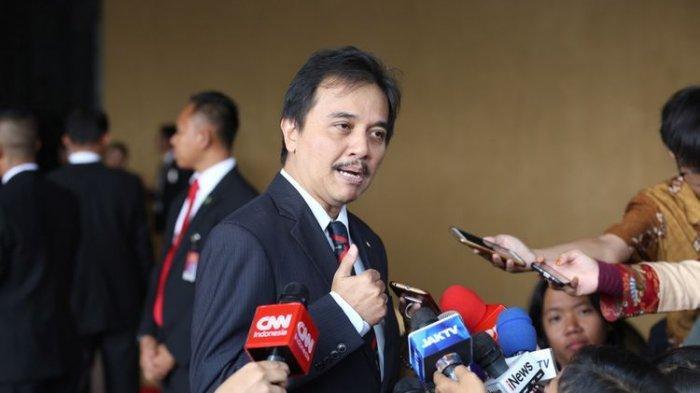 roy suryo saat masih menjabat wakil ketua umum partai demokrat. (kompas.com/andreas lukas altobeli)