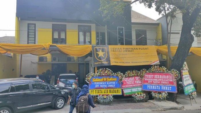 kantor dpp partai ummat di jalan tebet timurh
