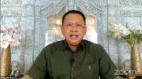 bamsoet dalam webinar lhkp pp muhammadiyah presiden 3 periode