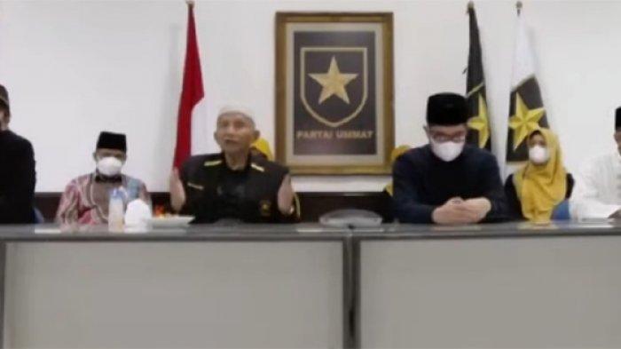 ketua majelis syuro partai ummat amien rais 6 september